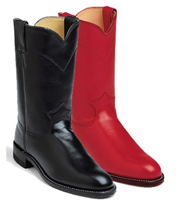 Ladies' Handcrafted  Roper & Lacer Boots
