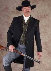 Men's Old West Frock Coats - Old West Clothing | Spur Western Wear,Wild West Clothing