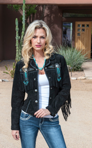 Ladies Leather Western Jackets