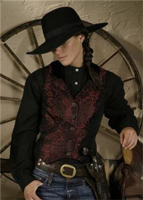 Ladies' Old West Vests - Old West Clothing | Spur Western Wear,Wild West Clothing