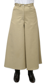 Frontier Classics Split Riding Skirt - Khaki - Ladies' Old West Skirts and Dresses | Spur Western Wear