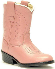 Jama Old West Cowgirl Boot - Pink - Infants' - Kids' Western Boots | Spur Western Wear