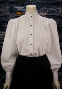 Frontier Classics Victoria Blouse - White - Ladies' Old West Blouses | Spur Western Wear