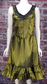 Frontier Classics Saloon Girl Ensemble -Peridot Green - Ladies' Old West Ensembles | Spur Western Wear