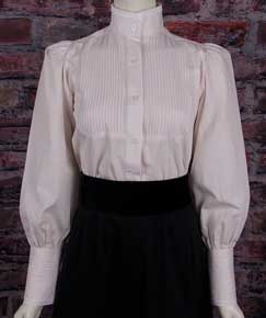 Frontier Classics Alma Blouse - Natural - Ladies' Old West Blouses | Spur Western Wear