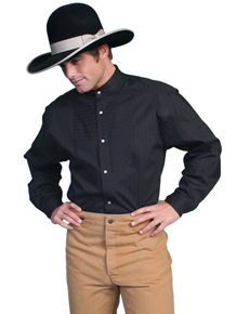Wah Maker O.C. Smith Shirt - Black - Men's Old West Shirts | Spur Western Wear