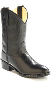 Jama Old West Cowboy Boot - Black - Toddlers' - Kids' Western Boots | Spur Western Wear