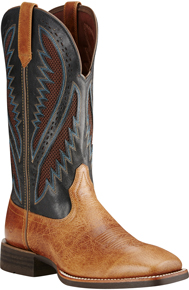 Ariat® Quickdraw VentTEK™ Western Boot - Gingersnap/After Dark - Men's Western Boots | Spur Western Wear