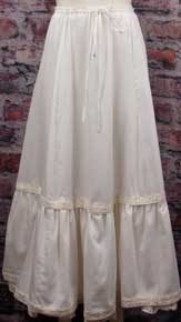 Frontier Classics Petticoat - Natural - Ladies Petticoats And Skirts | Spur Western Wear