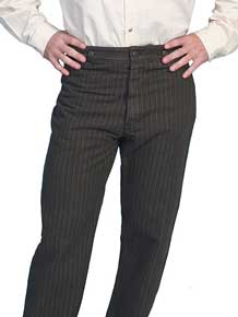 Wah Maker Saddle Seat Pant - Charcoal, - Men's Old West Pants | Spur Western Wear