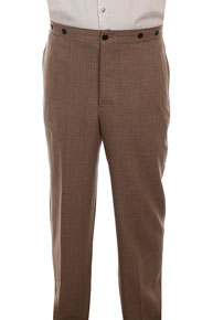 Wah Maker Plaid Pant - Tan - Men's Old West Pants | Spur Western Wear