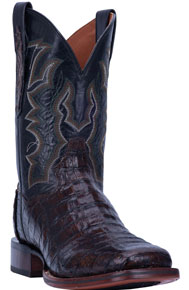 Dan Post Kingsly Caiman Western Boot - Brown - Men's Western Boots | Spur Western Wear