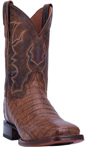 Dan Post Kingsly Caiman Western Boot - Bay Apache - Men's Western Boots | Spur Western Wear