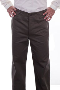 Wah Maker Herringbone Pant - Charcoal Grey - Men's Old West Pants | Spur Western Wear