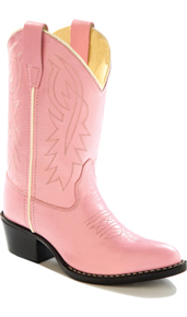 Jama Old West Cowgirl Boot - Pink - Toddlers' - Kids' Western Boots | Spur Western Wear