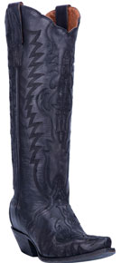 Dan Post Hallie Western Boot - Black - Ladies' Western Boots | Spur Western Wear