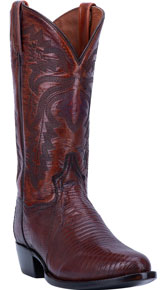 Dan Post Winston Lizard Western Boot - Tan - Men's Western Boots | Spur Western Wear