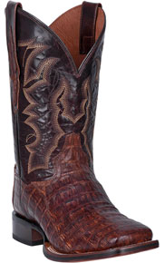 Dan Post Kingsly Caiman Western Boot - Brass - Men's Western Boots | Spur Western Wear