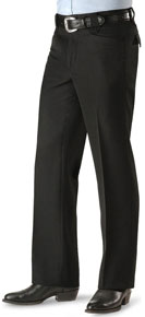 Circle S Ranch Western Suit Pant - Black - Men's Western Suit Coats, Suit Pants, Sport Coats, Blazers | Spur Western Wear