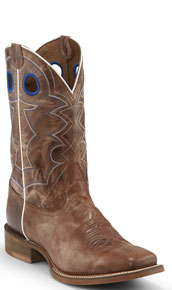 Nocona Go Round Western Boot - Tan - Men's Western Boots | Spur Western Wear