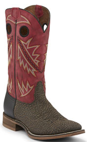 Nocona Go Round Western Boot - Red - Men's Western Boots | Spur Western Wear