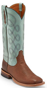 Tony Lama 1911 Naomi Western Boot - Blue - Ladies' Western Boots | Spur Western Wear