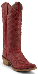Nocona Bessie Western Boot - Red - Ladies' Western Boots | Spur Western Wear