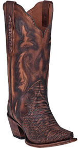 Dan Post Lauryn Western Boot - Brown - Ladies' Western Boots | Spur Western Wear