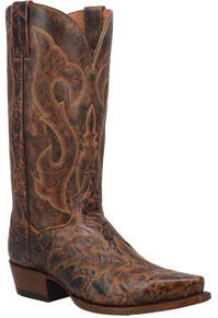 Dan Post Falco Western Boot - Brown - Men's Western Boots | Spur Western Wear