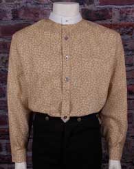 "Frontier Classics ""Helena"" Shirt - Tan , Men's Old West Shirts 