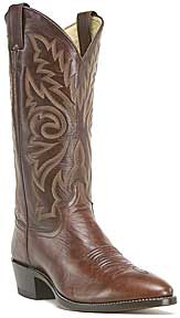 Justin Buck Marbled Deerlite Western Boot - Dark Brown - Men's Western Boots | Spur Western Wear
