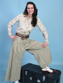 Scully Brushed Twill Riding Pant - Sand - Ladies' Old West Skirts and Pants | Spur Western Wear