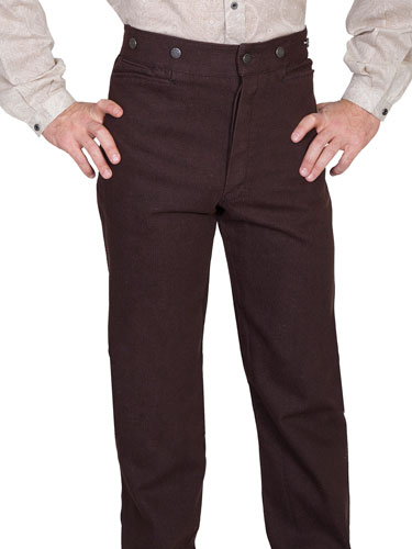 Wah Maker Denim Pant – Walnut - Men's Old West Pants | Spur Western Wear