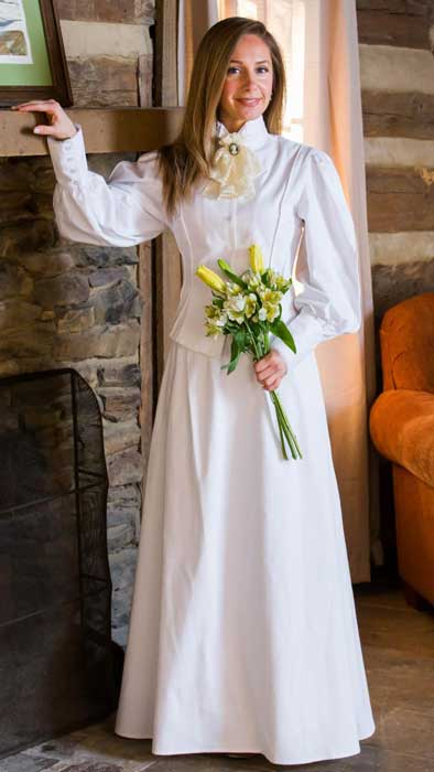 Frontier Classics Old West Two Piece Wedding Ensemble - Ladies' Old West Clothing | Spur Western Wear